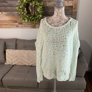 Anthropologie Moth Loose Knit Sweater